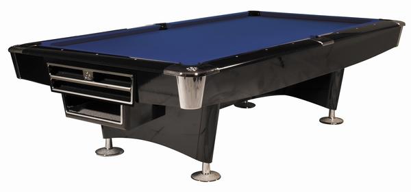 Poolbiljart Buffalo Pro II  Zwart Drop Pocket