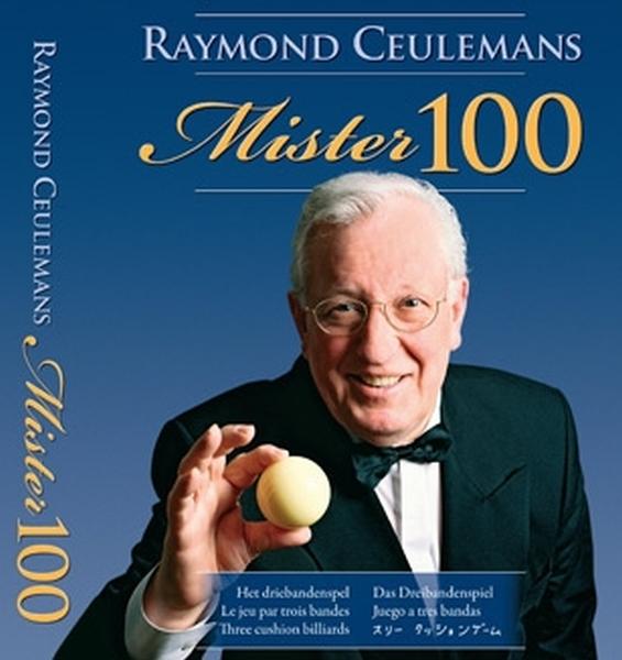 Mister 100 Boek Raymond Ceulemans Special Edition