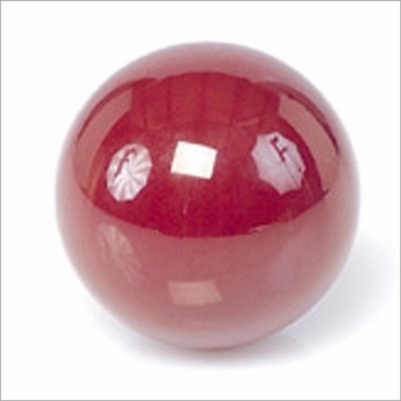 Biljartbal los 61, 5 mm, kleur rood
