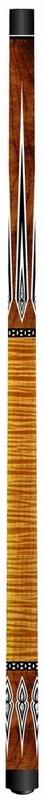 Biljartkeu Artemis Mister 100 curly maple bruin