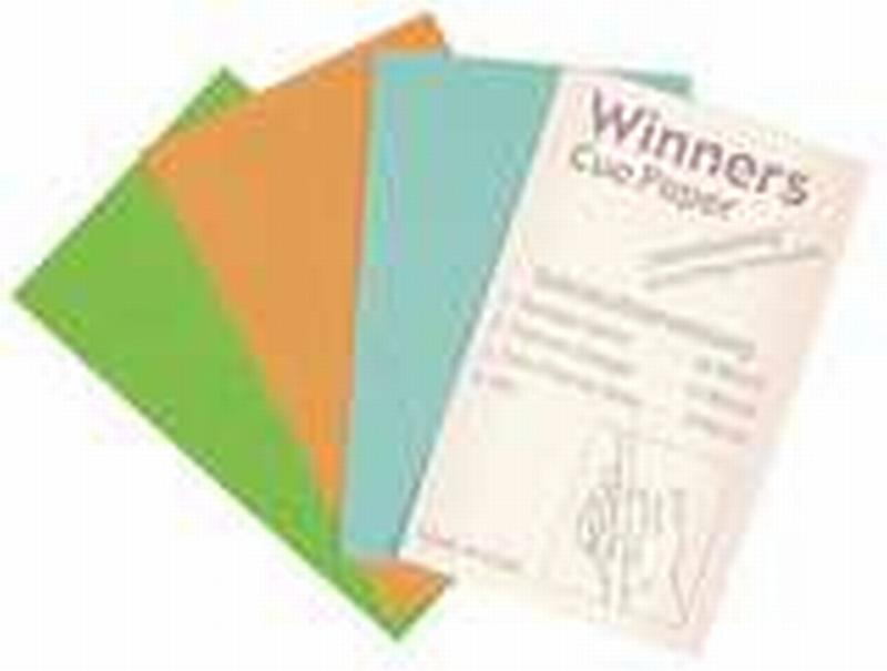 Schuurpapier Winners voor keutop