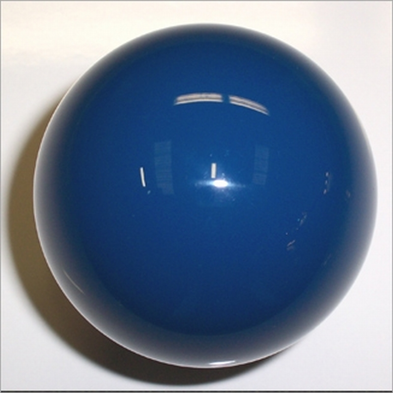 Biljartbal los 61, 5 mm, kleur blauw
