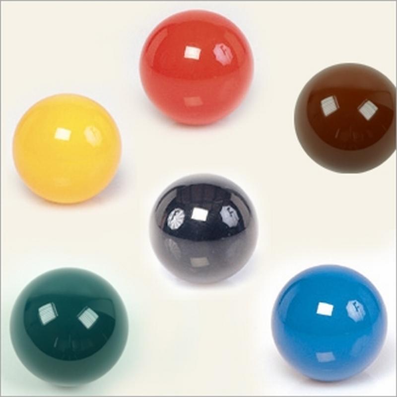 Biljartbal  Aramith diverse kleuren en afmetingen