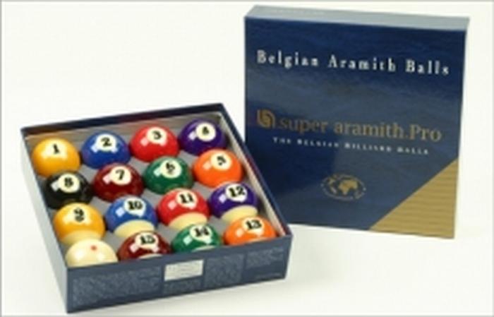 Poolballen Super Aramith 57.2 mm