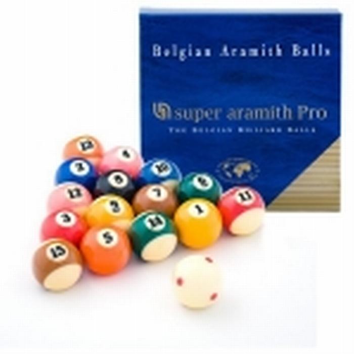 Poolballen Super Aramith Pro-Cup TV 57,2 mm