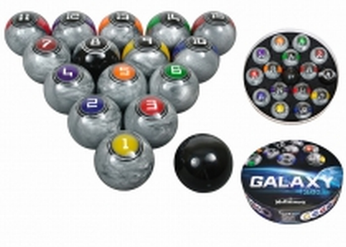 Poolballen McDermott Galaxy series 57,2 mm