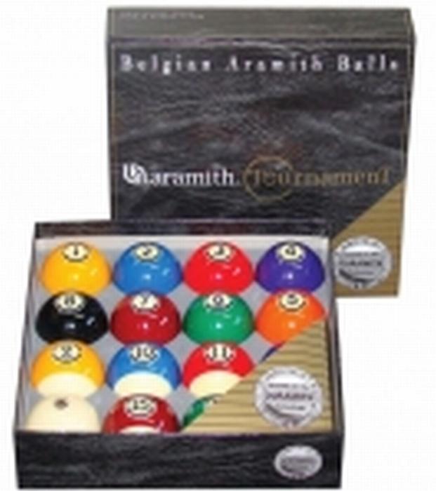 Poolballen Aramith US Tournament 57,2 mm
