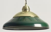 Lamp Solo Messing-Groen 45 cm
