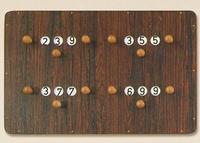 Biljart Scorebord 4 spelers