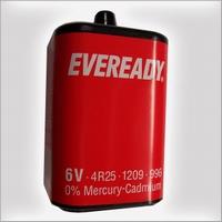 Blokbatterij 6 volt