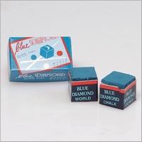 Biljartkrijt Blue Diamond (doosje 2 stuks)