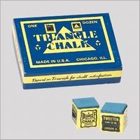 Biljartkrijt Triangle (doosje met 12 stuks)