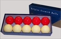 Ballen Super Aramith Golfbiljart
