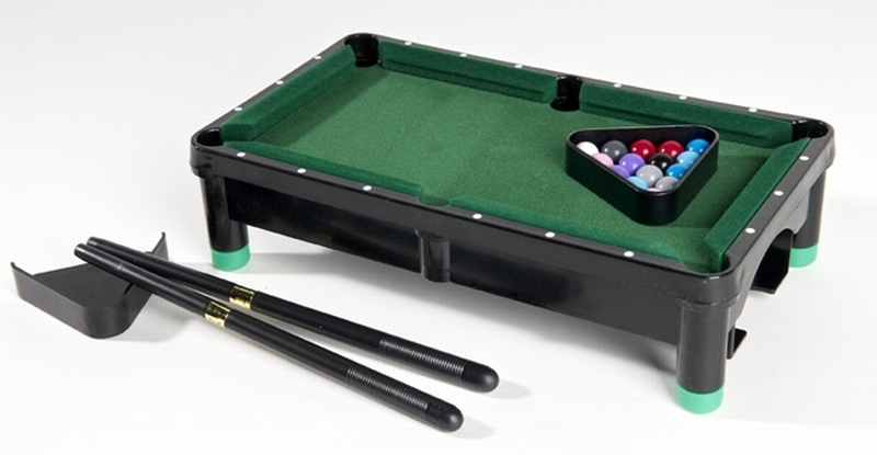 Model mini pool tafel