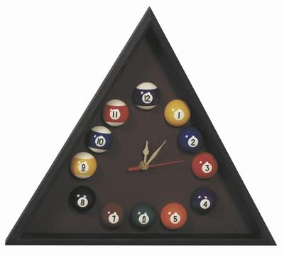 Poolklok driehoekig Mahonie