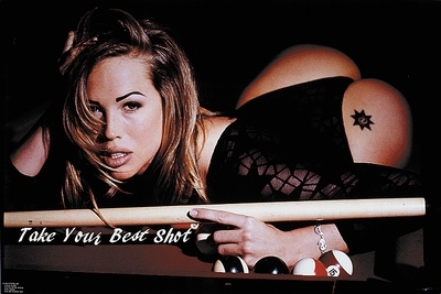 "Poster ""Take your best shot"""