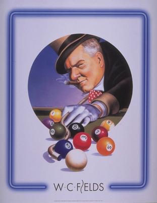 "Poster ""W.C.Fields Top Hat"""