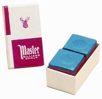 Biljartkrijt Master (doosje met 2 stuks)