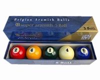 Biljartballen Super Aramith 5-Ball spel
