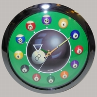 Poolklok model 8-ball