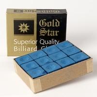 Biljartkrijt Goldstar (doosje 12 stuks)