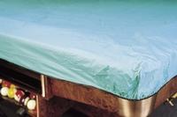 Afdekzeil Pooltafel groen met elastiek